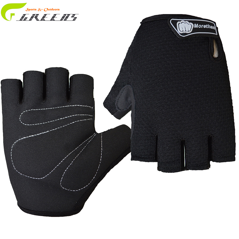 Outdoor Sport Gloves Summer Cycling Bike Bicycle Riding Gym Fitness Half Finger Gloves Shockproof Mittens M/L/XL/ cycling gloves(China (Mainland))