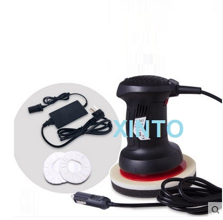 "7"" 12V 220V 60W Auto disc polisher, car polishing machine, disc sander, floor waxing machine(China (Mainland))"
