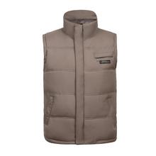 Man autumn plus size Casual Mandarin Collar zip solid waistcoat men winter pocket warm down vest male autumn warm outerwear D15(China (Mainland))
