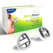 WoodyKnows Super Defense Nasal Filters (2nd Generation) Nose Masks, Pollen Allergies Dust Allergy Relief, No pm2.5 air pollution(China (Mainland))
