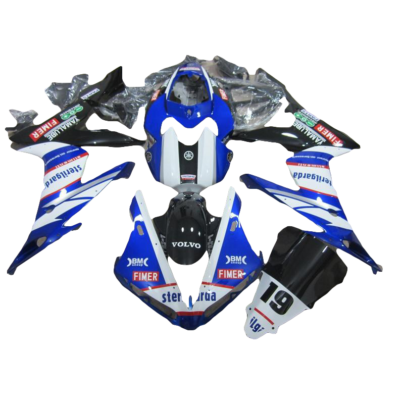 Fairing kit for 04 06 blue YAMAHA R1 YZF R1 fairings kit for 2004 2006 injection molding LV47(China (Mainland))