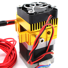 wholesale 3D printer makerbot/diy nozzle extruder MK9 kit voltage 12V temperature 190deg-250deg