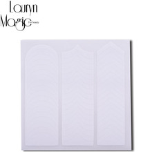 4 package 192 Sticker 2015 New  Fashion Portable  French Nail Art  DIY Guides Sticker(China (Mainland))
