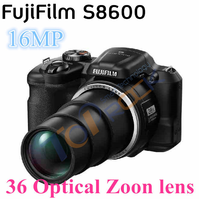 Fuji Fujifilm HD digital camera s8600 Compared with the DSLR camera 16 million effective pixels 36 times optical zoom(China (Mainland))