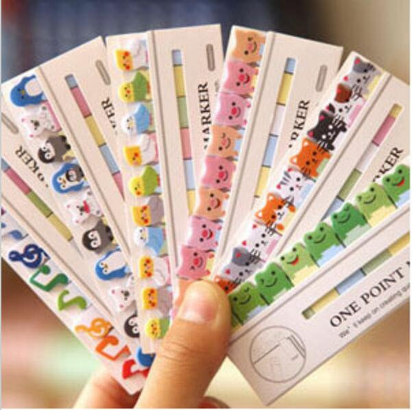 8pcs/lot New Freshh and lovely Animal mini Notepad/Sticky Notes Memo pad/Message Post it notes/Writing scratch pad(China (Mainland))