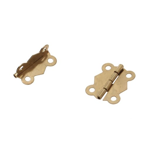 JFBL Hot sale 10Pcs Mini Iron Butterfly Hinges Cabinet Drawer Door Butt Hinge(China (Mainland))