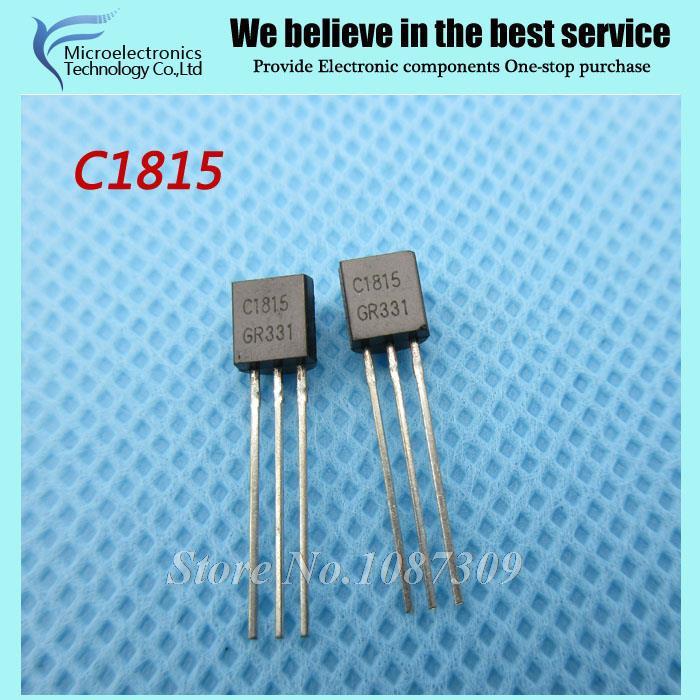 200pcs free shipping C1815 2SC1815 Bipolar Transistors - BJT PNP Gen Pr Amp TO-92 new original(China (Mainland))