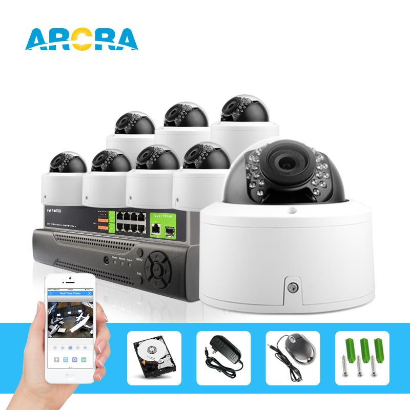 CCTV 8CH 1080P POE NVR System+2MP POE Outdoor Night Vision Bullet IP Camera Surveillance Kit,Low 0.0001 Lux Day&Night Color(China (Mainland))