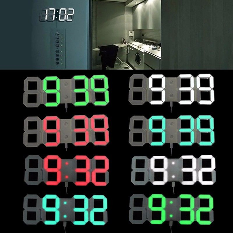 Popular Large Led Wall Clock Buy Cheap Large Led Wall
