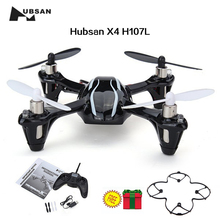 Free Shipping! Updated Hubsan X4 H107L 6-Axis 4CH RC Helicopter Quadcopter & Protection Cover