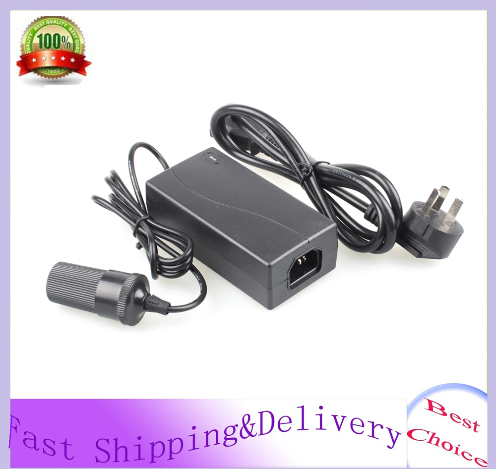 60W AC 220V to DC 12V 5A Car Cigarette Lighter Power Converter Adapter Inverter Car to Home Free Shipping Wholesale(China (Mainland))