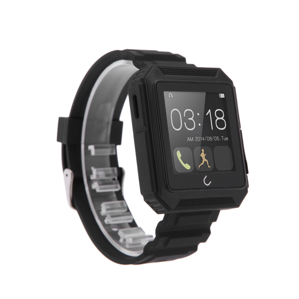 U Watch Bluetooth Smart Watch Waterproof Phone Call Pedometer Sleep Monitor Music Player Anti Lost for Andriod IOS Smartphones