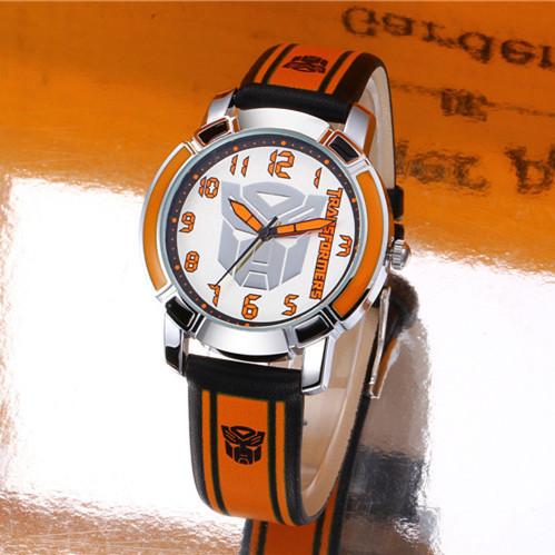 Гаджет  New 2015 Children Cartoon Watches Fashion Waterproof leather Child Watch Quartz Kids Wrist Wristwatches k1170 None Ювелирные изделия и часы