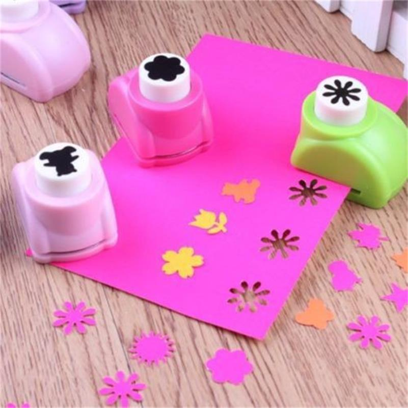 1 PCS Kid Child Mini Printing Paper Hand Shaper Scrapbook Tags Cards Craft DIY Punch Cutter Tool 8 Styles(China (Mainland))