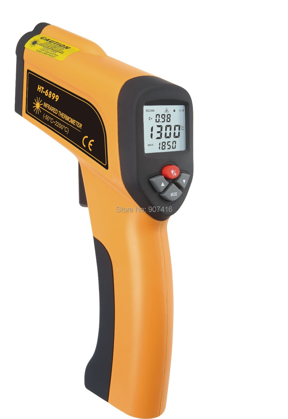 Industry High Temperature Infrared Thermometer (HT-6888)  HT6888<br><br>Aliexpress