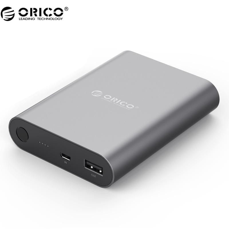 Гаджет  ORICO USB Portable External Battery, 10400mAh Power Bank,  Quick Charger QC 2.0 for Your Electric Device (Q1-BK) None Телефоны и Телекоммуникации