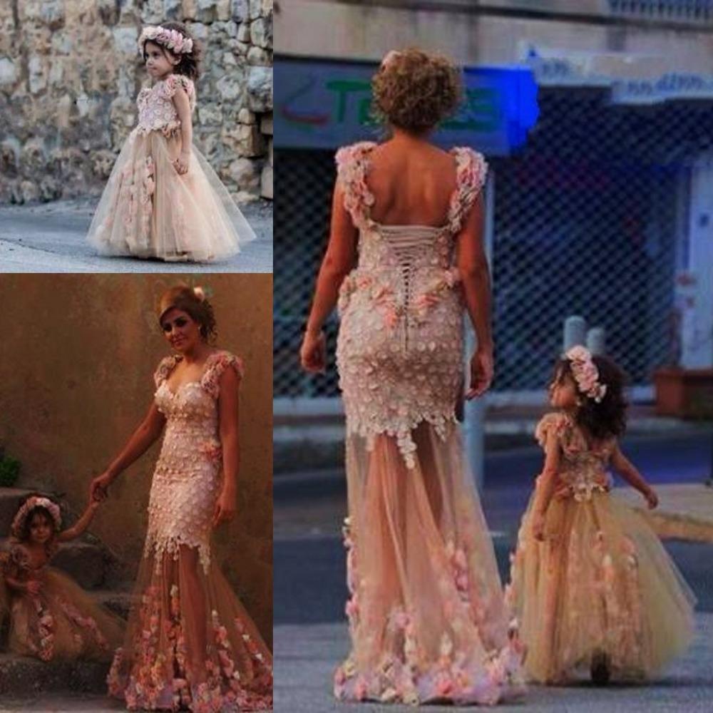 Nueva Llegada Elegante Sewwtheart Sirena de Tulle Prom vestidos de Noche Vestido de Fiesta 2015 Madre