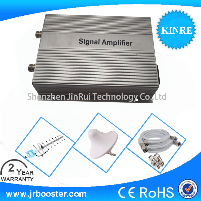 850mhz signal booster gain 85dB signal repeater CDMA 850mhz cellular phone signal amplifier full set with antenna and cable(China (Mainland))