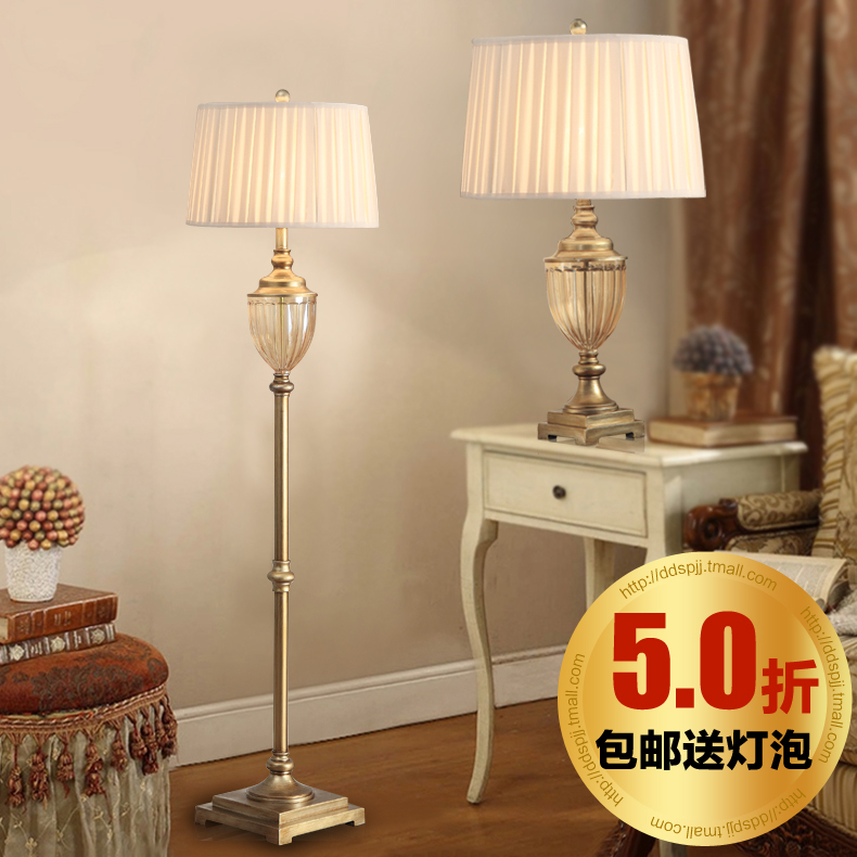 Special Sets Of Lights Crystal Table Lamp Floor Lamp Supporting European Load