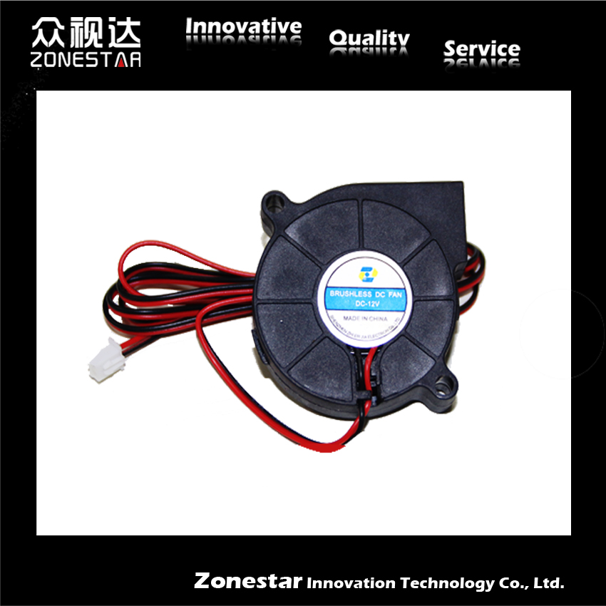 50x50x10 Blower Fan Extruder cooling fans Printer Head Fan DC12V 3d Printer Parts Accessories for P802M