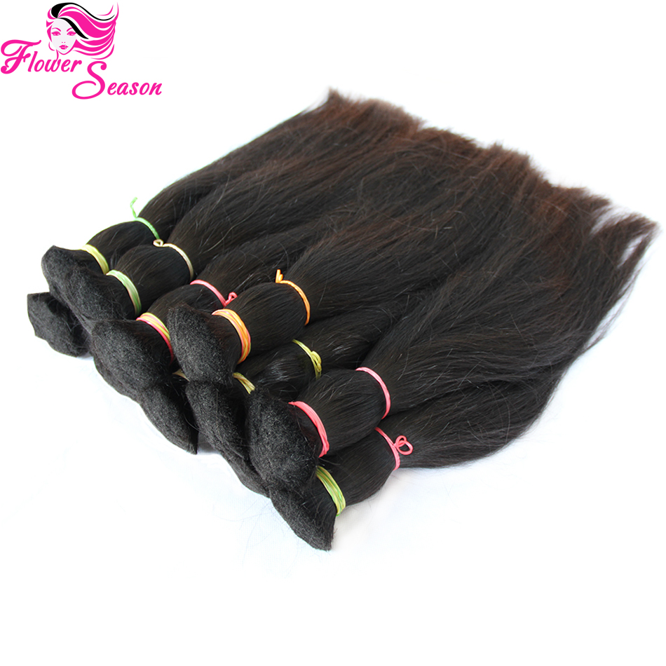 Top Quality Unprocessed Brazilian Virgin Bulk Hair For Braiding Straight Human Braiding Hair Bulk No Weft Fast Shipping<br><br>Aliexpress
