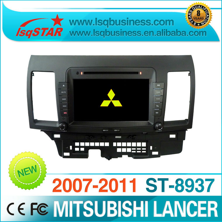 8 inch car radio player for mitsubishi lancer supplier with gps navigation 3G....Good quality and cheaper!(China (Mainland))
