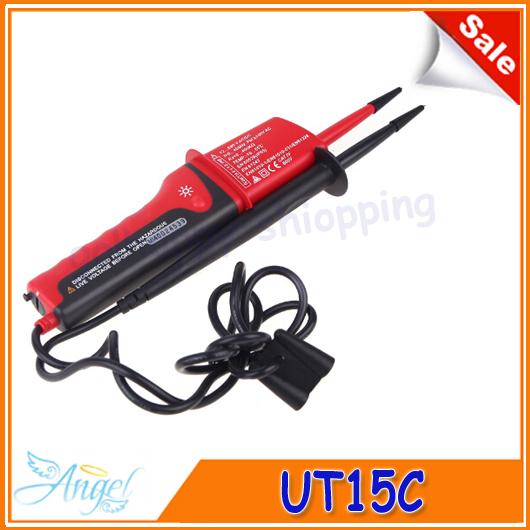 Гаджет  UNI-T UT15C LCD Display Waterproof IP65 Type Voltage Testers voltmeter motorcycle voltimetro voltage meter Tester None Инструменты