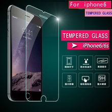 2016 Free Shipping 0.33mm Ultra Thin HD Clear Tempered Glass Screen Protector Cover Guard Film for iPhone 4s 5 5C 5S 6 6s plus