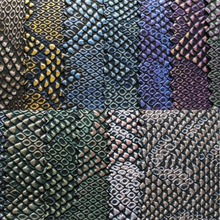 Pearlized Python  PU Leather Fabric, Faux Leather Fabric, Synthetic Vintage Leather DIY Material for bags mobile shoes K0005(China (Mainland))