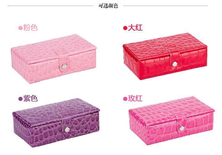 jewelry display casket / jewelry organizer mini earrings ring box /case for jewlery gift box jewerly(China (Mainland))
