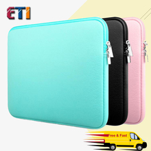 Applicable FOR Apple computer bag for macbook air 13 pro 11 14 15.6-inch solid business casual for Lenovo Notebook Sleeve