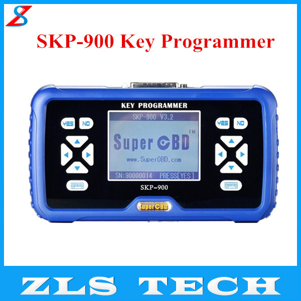2015 Latest V3.5 Version SuperOBD Original Hand-Held SKP-900 Key Programmer SKP900 Auto Key Pro with Fast Shipping(China (Mainland))