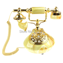 KXT635 Retro Style Wired High-quality Telephone for Home Free Shipping with Tracking Number