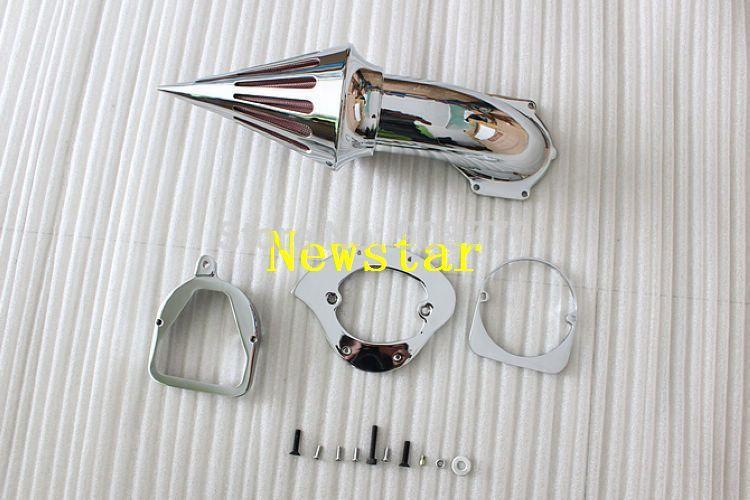 Бесплатная доставка новое хром спайк воздухоочиститель комплекты для мотоцикла Honda тени дух ACE 750 1998 +