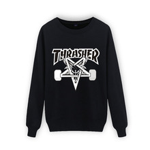 New Arrival  3xl Cotton Thrasher Sweatshirt Men Autumn Winter Hip Hop in Mens Hoodies and Sweatshirts XXS(China (Mainland))