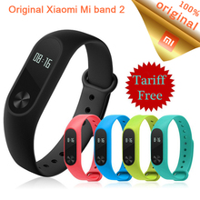Buy Original Xiaomi Mi Band 2 Wristband Bracelet OLED Display Touchpad Smart Heart Rate Monitor MiBand 2 Fitness Tracker xaomi for $15.79 in AliExpress store