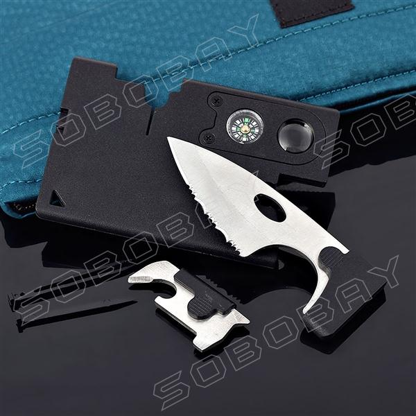 Гаджет  Credit Card Companion by Carzor 9 in 1 Multi Tool Kit None Инструменты