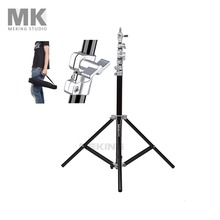 Selens Photo Studio Air-Cushion Heavy Duty Light Stand 4m 13.2ft SGT-4000A with carrying Bag for background load 7kg