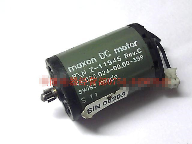 maxon DC motor P/N Z-11945 Rev.C 41.022.024-00.00-399(China (Mainland))