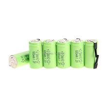 Safe Safe Safe! 6pcs AA Ni-Cd 600mAh 1.2V 2/3AA rechargeable battery NiCd Batteries – Green