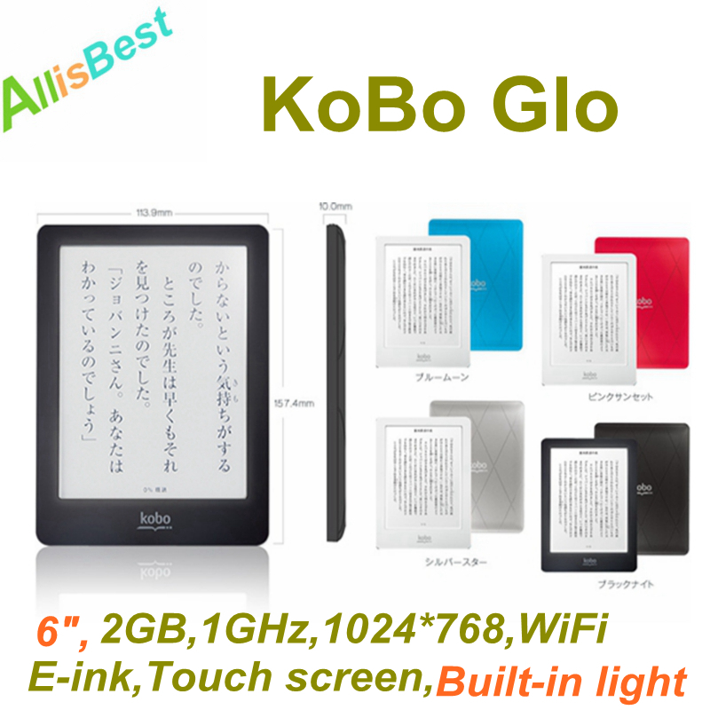6 kobo glo 2gb glowlight wifi touch e ink 1024 768 ebook. Black Bedroom Furniture Sets. Home Design Ideas