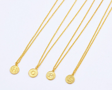 2015 New Fashion Gold Chain 26 Letter Necklace For Women Girl Name Personal Necklace Fine Jewelry Wholesale 8098(China (Mainland))
