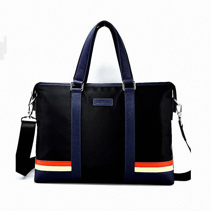 2015 Men Casual Briefcase Business Shoulder Leather Bag Men Messenger Bags Computer Laptop Handbag Bag Men's Travel Bags LI-606