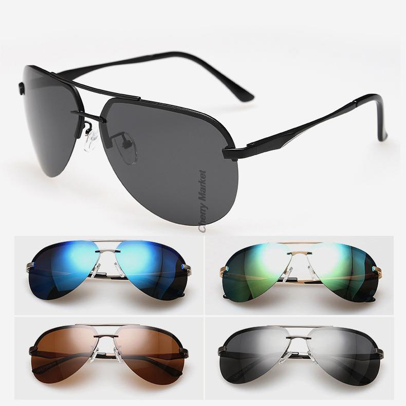 6 color unisex polarized sunglasses solar shades
