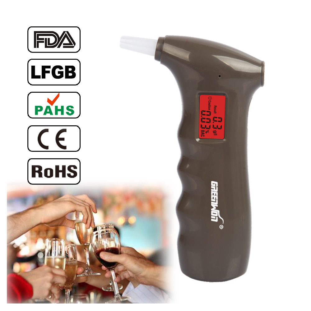 The police professional digital alcohol breath tester people alcohol tester after the alcohol content in the body(China (Mainland))