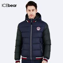 ICEbear 2016 Зимний удобный пуховик Куртка съёмным утеплителем Модная молодежная парка Манжеты на рукаве трикотажные Теплая куртка 16MD872(China (Mainland))