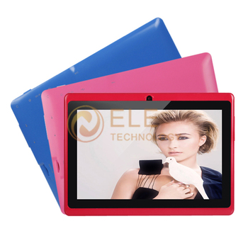 cheap 7 inch android 4.2 Phablets boxchip allwinner a23 dual core mid firmware 512M 4G Capacitive Screen Q88 q8 tab tablet pc