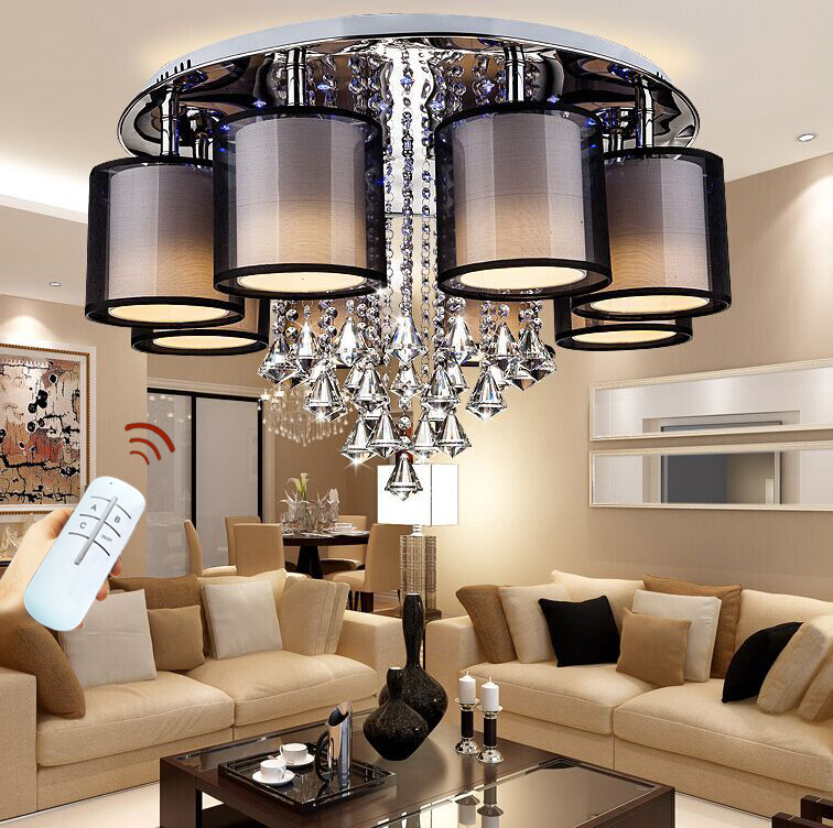 Light Filled Contemporary Living Rooms: Modern Living Room Light Fixtures