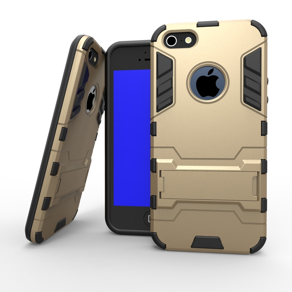 For iPhone 5S Case, Rugged Armor Impact Holster Shockproof Hard Case for Apple iPhone 5 5G 5S SE Cell Phone Cover(China (Mainland))