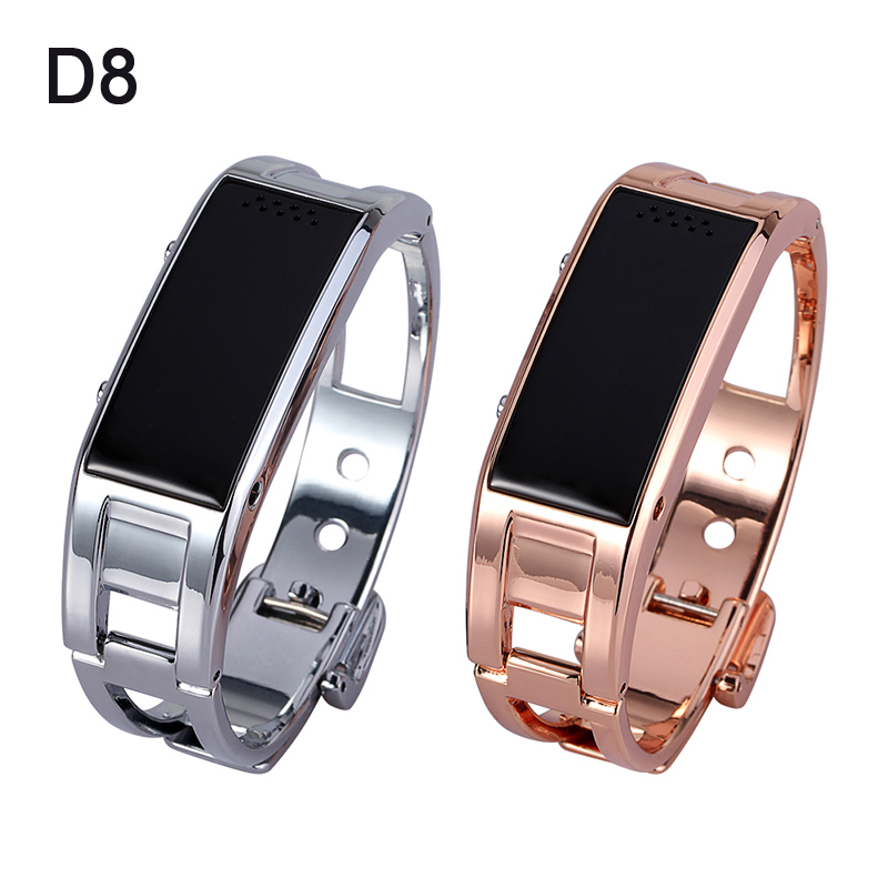 Fashion D8 Bluetooth Smart Watch Smartband Bracelet Sync Phone Call/ Pedometer/ Anti-lost for Samsung HTC Android Smartphones